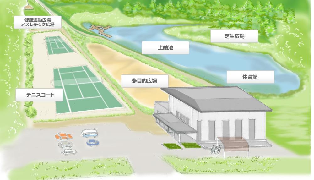 上納池スポーツ公園の施設画像