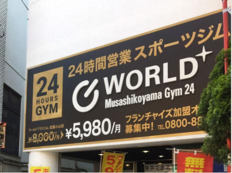 ワールド+ジム 武蔵小山店の施設画像
